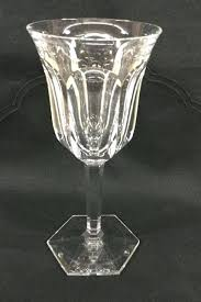 baccarat martini glasses baccarat crystal stemmed wine glass signed baccarat crystal martini glasses