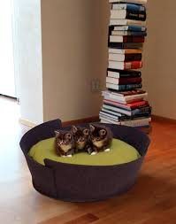 luxury cat beds furniture. lido luxury pet bed cat basket out of felt beds furniture