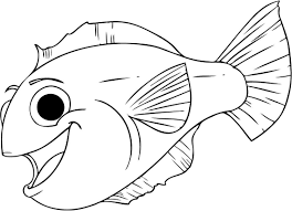 Small Picture Coloring Pages Amazing Fish For Kids Color In Preschool esonme