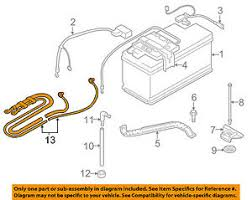 bmw oem 07 13 328i battery cable 61129125036 image is loading bmw oem 07 13 328i battery cable 61129125036