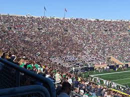 Notre Dame Stadium Notre Dame Seating Guide