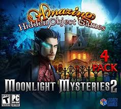 Get your hidden object fix with these 4 incredible games! Moonlight Mysteries 2 Amazing Hidden Object Games 4 Pack Amazon Co Uk Pc Video Games