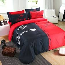 red and grey bedding home textile red black bedding set duvet cover pillowcase white and red and grey bedding