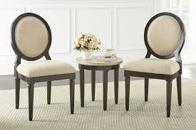 philly round corner table with 2 chairs from gardner white furniture