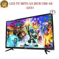 sharp 43 4k. mito led tv 43 inch 4k sharp