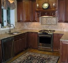 stone kitchen backsplash dark cabinets.  Dark Uncategorized Kitchentone Backsplash Ideas With Dark Cabinets Fence Laundry  Tumbled Pictures White Drytacked Stone Kitchen To W