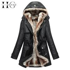 cool hee grand women basic jackets hooded winter coat