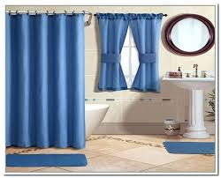 blue shower curtain blue bathroom curtains bed bath and beyond brown and blue shower curtain