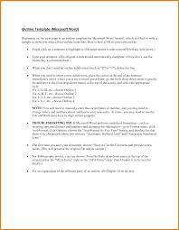 Blank Outline Template Blank Outline Template Microsoft Word Achievable Quintessence 20