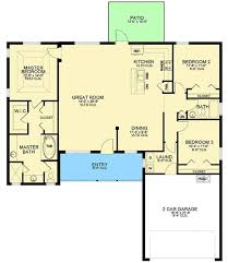 ranch style house plans with open floor