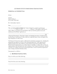 Business Letter Of Intent Letter Of Intent Business Template Search Results Easy Paleo 5