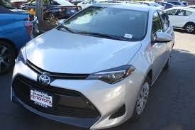 New 2018 Toyota Corolla LE 4dr Car in San Jose #C180735 | Stevens ...