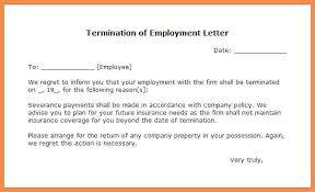 30 day termination letters employee termination notice of letter sample 30 day lease contract