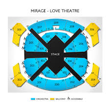 Love Theatre At The Mirage Tickets