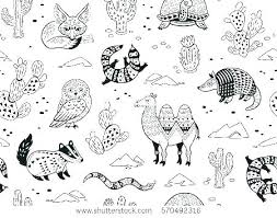 Outline Of A Butterfly Printable 4 Coloring Pages Desert Coloring