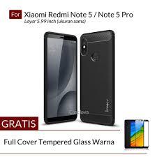 caselova premium quality carbon shockproof hybrid case for xiaomi redmi note 5 redmi note 5