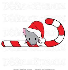 Christmas Mouse Clipart - ClipartXtras