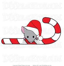 Christmas Mouse Clipart - ClipartXtras