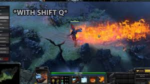 dota 2 animation canceling comparison difference between shift q