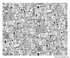 Small Picture CITY Coloring Pages Free Printable