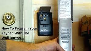 liftmaster garage door opener not working learn on program garage door opener remote programming learn on