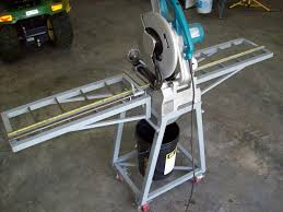 dry cut metal saw. fabbed a hopper below the saw to direct chips into 5 gallon bucket. dry cut metal