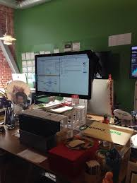 leslie hitch on twitter diy standing desk milk crate and shoe bo ftw t co nj9i21i3ua