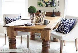 home office makeover. Home Office - Table Makeover 5