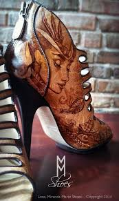 <b>Hand painted steampunk</b> shoes by Love, Miranda Marie. Perfect for ...