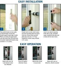 patio door security locks how to install sliding glass lock with regard secure doors idea 18