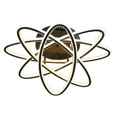 <b>Светильник</b> потолочный <b>Балтийский стиль</b> Римон 200 Вт ПДУ <b>LED</b>