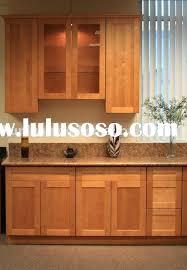 shaker oak kitchen cabinets kitchen cherry wood