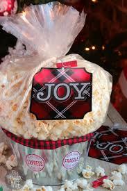 popcorn bucket gift idea