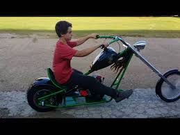 12 year old builds mini chopper youtube