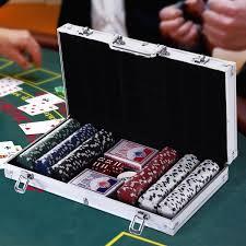 Set de poker cu 300 de jetoane, 38 x 20,5 x 6,5 cm - eMAG.ro