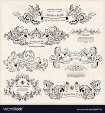 Ornamental Designs Photo Book Set Of Vintage Victorian Ornaments Wedding Design