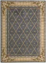 nourison rugs in grey and beige also white tile floor for pretty living room
