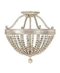 full size of stunning ceiling mount lighting fixturessh crystal for nursery chandelier truss semi flush cover world imports venn in light brushed nickel