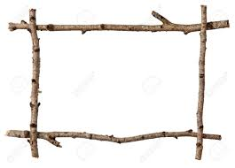 Twig frame Stock Photo - 10864933