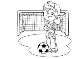 Kleurplaat Van Voetbalveld Kleurplaat Voetbal Download 28 Leukste