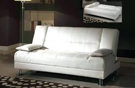 futon bed sets white faux leather sofa bedroom furniture belle