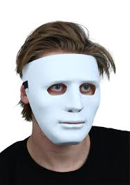 Plain White Masks To Decorate Deluxe White Blank Face Mask 25