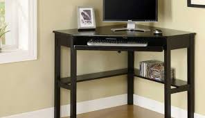 tempered desk cherrychrome shaped depot office black homebase argos inspiring chrome silver corner blackchrome computer innovex