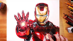 The film was released on april 30, 2008 internationally and on may 2, 2008 in the united states. Iron Man Tony Stark Speed Drawing Drawholic Youtube