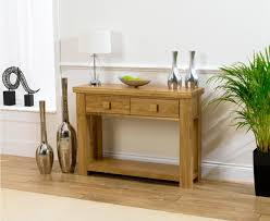 mobel oak console table. Barcelona Solid Oak Console Table In A Matt Laquer Finish | Morale Home Furnishings Mobel