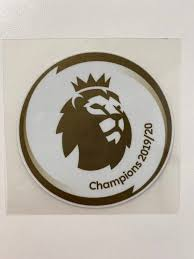 Original Premier League Champions Patch 2019/2020 Liverpool
