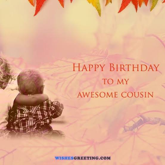 birthday status for cousin brother