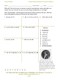 solving two step inequalities worksheet worksheets for all and share worksheets free on bonlacfoods com