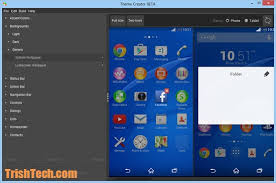 themes create create sony xperia themes with sony theme creator
