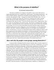 gettysburg address essay gettysburg address essay zachariah  3 pages animal farm essay